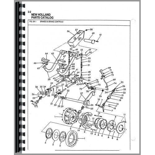 ford 4500 backhoe parts manual