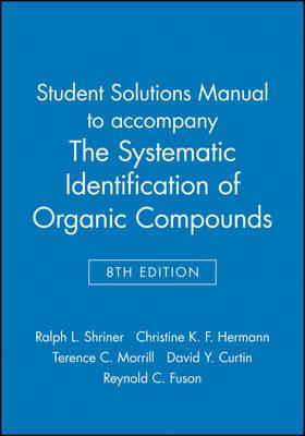 spectrometric identification of organic compounds solutions manual