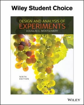 design and analysis of experiments solutions manual 8th