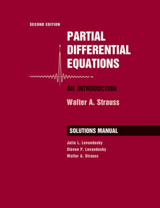 partial differential equations an introduction strauss solution manual