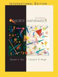 discrete mathematical structures 5th edition solution manual
