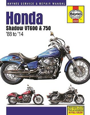honda shadow vt 600 manual pdf