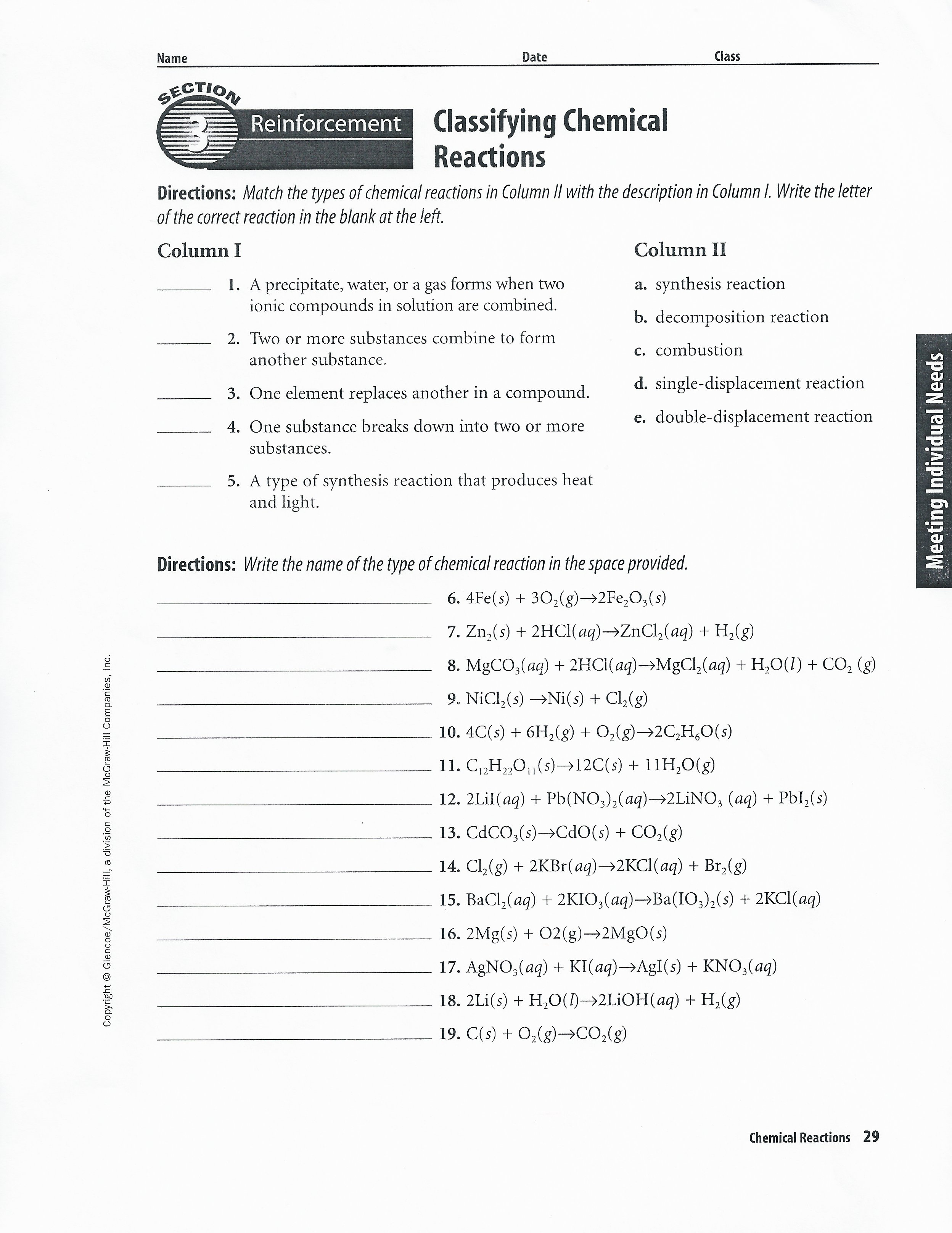 chapter 15 energy and chemical change solution manual