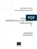 elementary differential equations edwards and penney solutions manual pdf