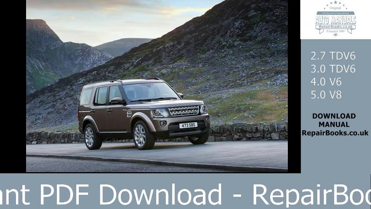 land rover discovery 1 parts manual pdf