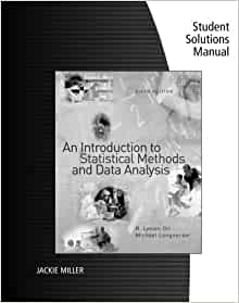 solution manual an introduction to statistical methods and data analysis